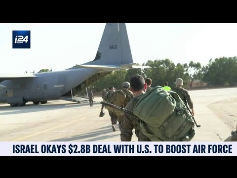 Israel OK's $2.8 Billion With US To Boost Air Force