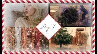 Vlogmas, day 9: GETTING & DECORATING MY CHRISTMAS TREE!
