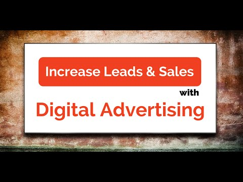 How to Increase Sales with Digital Advertising in Ottawa, Toronto, Montreal & Canada