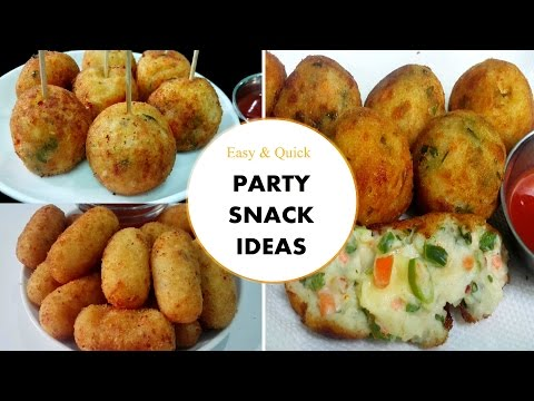 Party Snack Ideas Easy Quick Party Snacks Youtube