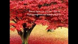 Autumn Leaves ( Lá vàng rơi )  Tami Le