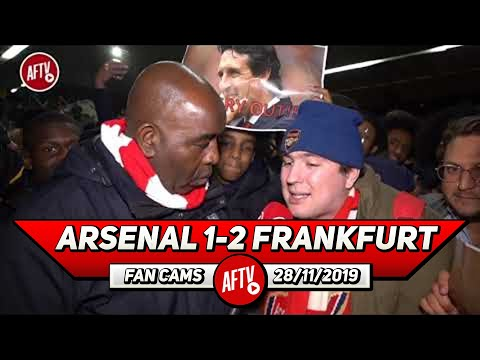 Arsenal 1-2 Frankfurt | We Haven't Won A Game Since September! It's Embarrassing!