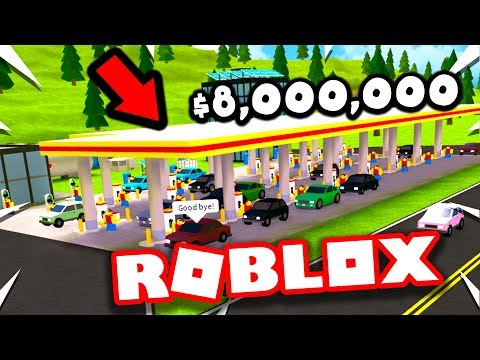 Making The RICHEST Gas Station (Roblox Gas Station Simulator)
