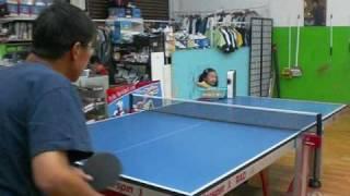 mini-me pingpong machine