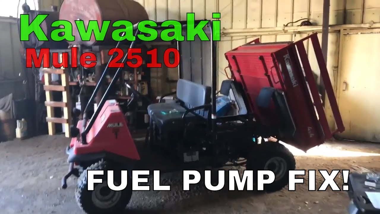 Kawasaki Mule 2510 Fuel Pump Issue Affordable Fit Youtube 4010 Electrical Wiring Harness