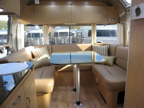 Amazing European Dinette Airstream Flying Cloud 26U Caravan Travel Trailer | FunnyDog.TV
