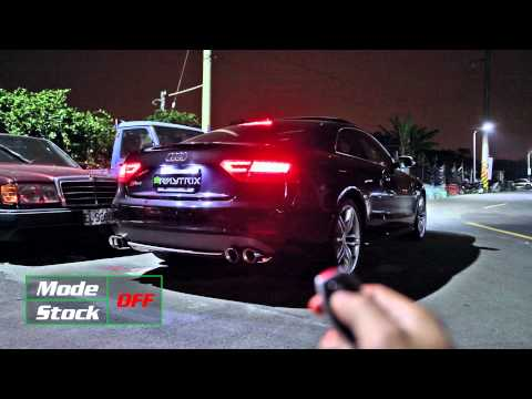 Audi S5 V8 Coupe w/ Armytrix Cat-Back Performance Valvetronic Exhaust