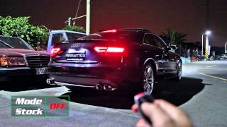 audi s5 v8 coupe w armytrix cat back performance valvetronic exhaust