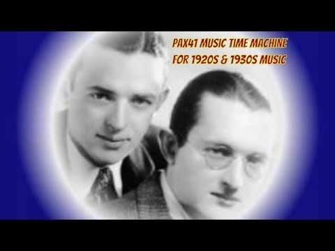 1930s Jazz Music - Dorsey Brothers - Dancing In The Moonlight @Pax41