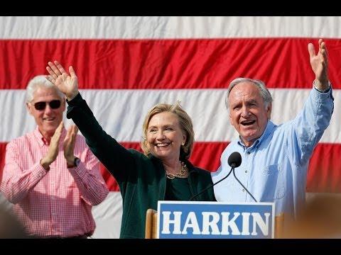 She's &x2018baac;k' — Hillary Clinton returns to Iowa