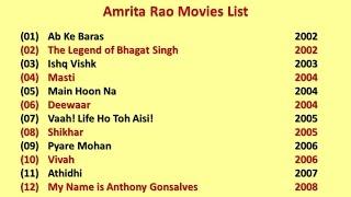 Amrita rao movies list