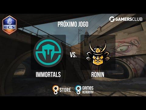 ECS S2 NA Qualifier - Immortals vs. RONIN (Overpass) - Narração PT-BR