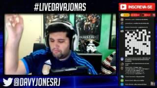 DAVY JONES BEBADO DESAFIO CACHAÇA PIMBA  #LIVEDAVAJONAS