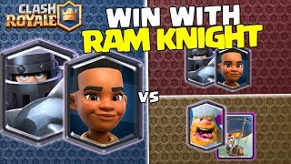 How to play Mega Knight Ram Rider deck in Clash Royale competitive?...