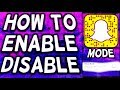 ENABLE/DISABLE GHOST MODE ON SNAPCHAT FAST TUTORIAL