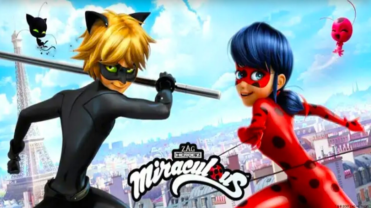 It's just an image of Légend Pictures of Ladybug and Cat Noir