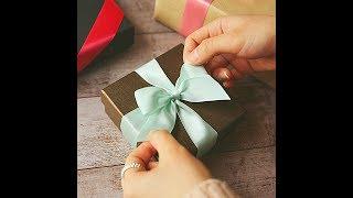 [디웨이] 리본 선물포장 하기(리본/리본공예/선물포장/리본묶기/포장/선물/DIY)