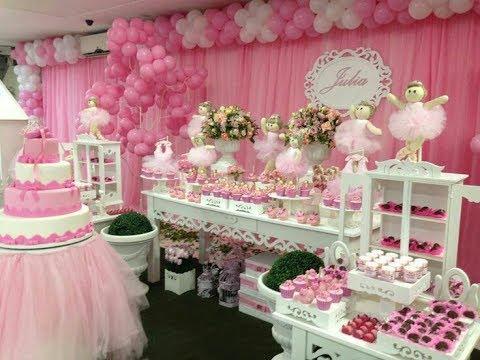 Fiesta de bailarina de ballet party 2017 mesa de dulces for Decoracion para mesa dulce