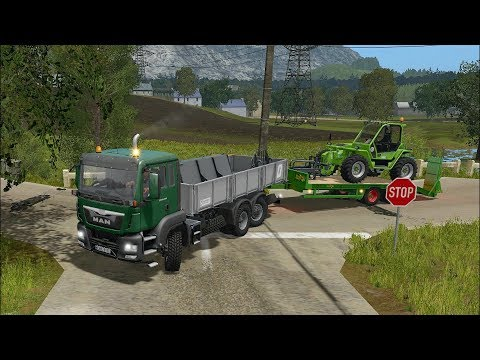 Farming Simulator 17 - Forestry and Farming on The Valley The Old Farm 015
