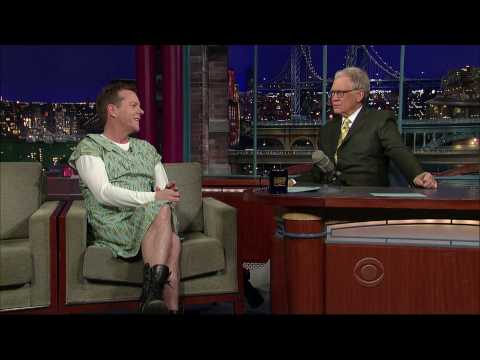 Kiefer Sutherland on Letterman 1/13 (HD)