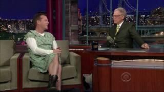 Kiefer Sutherland on Letterman 1/13 (HD)