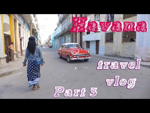 Lost in Cuba | Travel VLOG: Havana, Part 3 | Day 3-5