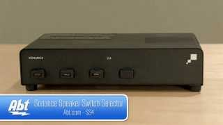 Sonance Speaker Switch Selector SS4 Overview
