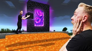 Creating The Nether Portal! | Minecraft