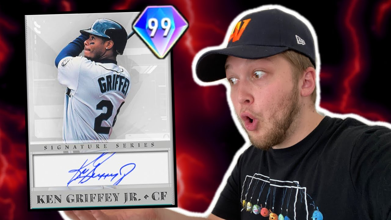 they're finally releasing 99 KEN GRIFFEY JR.. MLB The Show 20