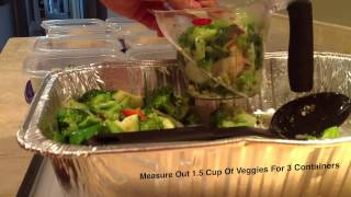 Healthy Meal Prep Video - Phase 1 - Bikini Competition