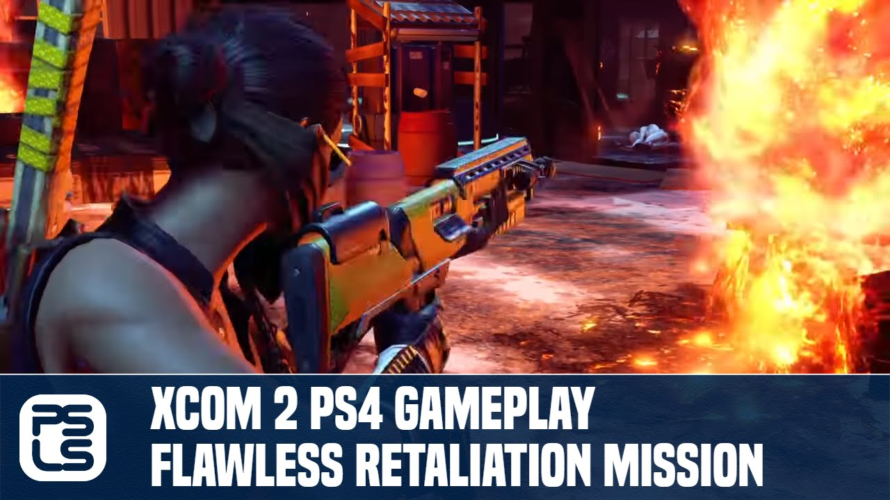 Xcom 2 ps4 gameplay flawless retaliation mission youtube for Portent xcom mission
