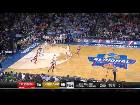 """Notre Dame Basketball March Madness 2016 Highlights: """"A Run to an Elite Eight"""""""