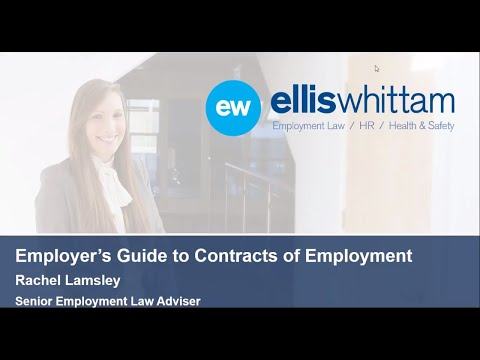 Employer's Guide to Contracts of Employment