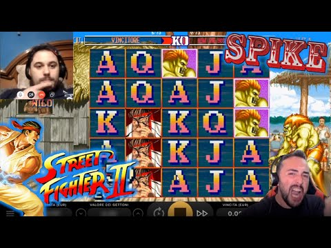 ONLINE SLOTS - Playing STREET FIGHTER By NetEnt
