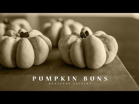[No Music] How to Make Pumpkin Buns