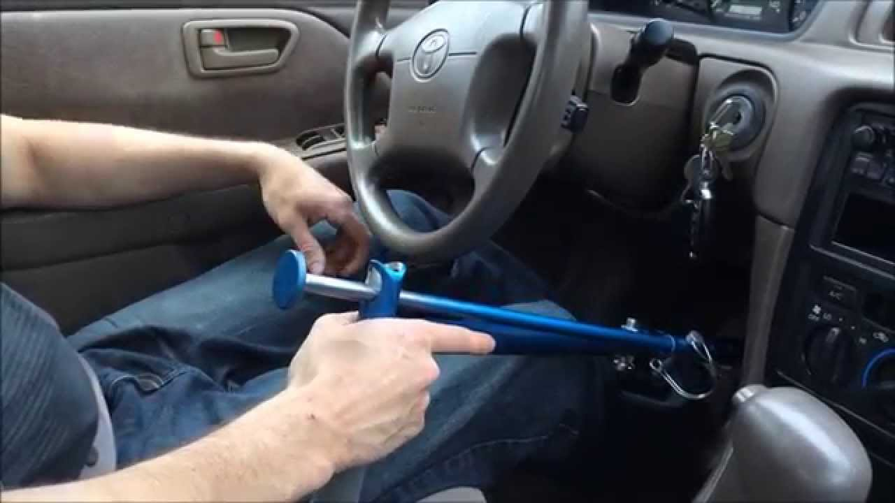 Hand Controls For Cars >> Paraplegic Driving With Portable Hand Controls - YouTube