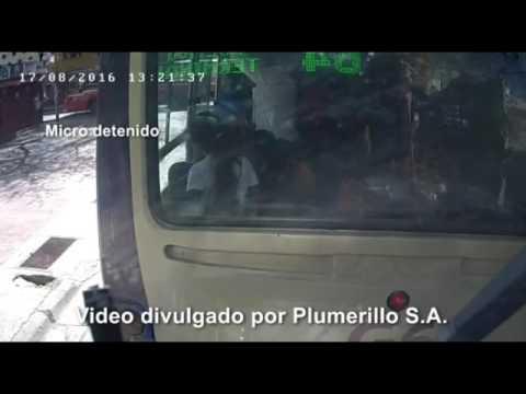 Divulgaron el video del momento en el que un colectivo atropelló a una nena y a su abuela