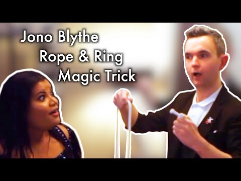 """Jono Blythe, Close-Up Magician """"Ring and Rope"""""""