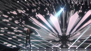 ESCKAZ in Vienna: Nina Sublatti (Georgia) - Warrior (Final dress rehearsal)