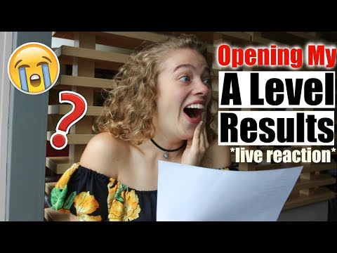 *live* OPENING MY A LEVEL RESULTS 2018 (emotional!!!) ???????? x