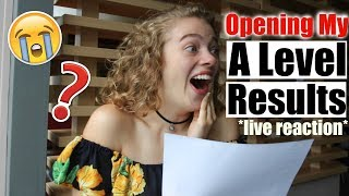 *live* OPENING MY A LEVEL RESULTS 2018 (emotional!!!) 😭🙈 x