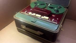 1958 г. №3021. Мелодия МГ-56. Ламповый катушечный магнитофон.
