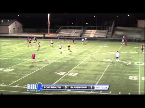 2012 RIIL Division 1 Boys Soccer Semifinal #1- Barrington vs Portsmouth