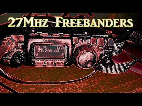 Monitoring CB Freebanders On 27Mhz With Yaesu FT-817