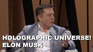 Elon Musk admits our reality might be a virtual reality hologram! | HUMAN RISE