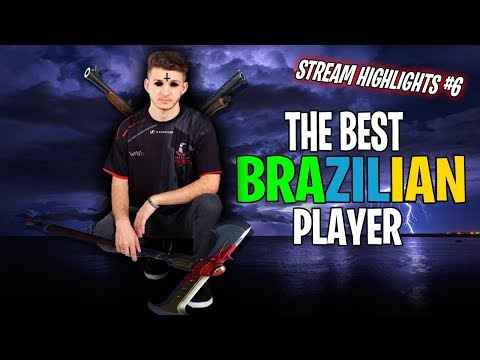 THE BEST BRAZILIAN PLAYER - Fortnite Highlights 6