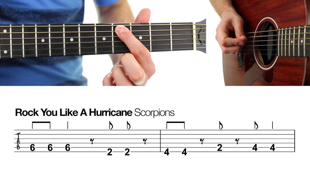 rock you like a hurricane scorpions beginners guitar rock you like a hurricane scorpions beginners guitar lesson hexwebz Gallery