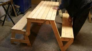 Folding Picnic Table Tibcsi 2