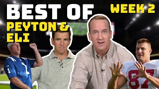 Best of Peyton and Eli Manning on MNF | Week 2