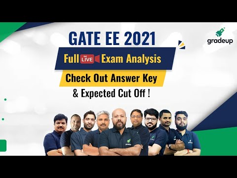 GATE 2021 Electrical Full Exam Analysis & Answer Key | Live 7th Feb  | Do not Miss! | Gradeup